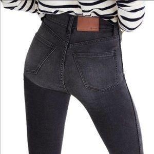 Madewell Black High Riser Skinny Jean Size 27